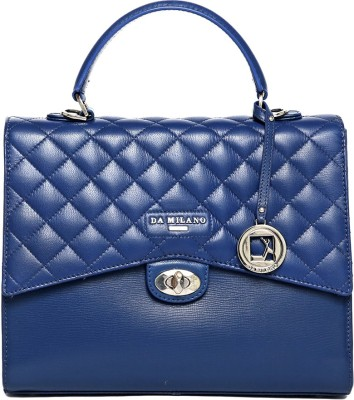 Da Milano Hand-held Bag(Blue)