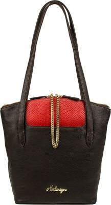 Hidesign Shoulder Bag(Brown, Red) at flipkart