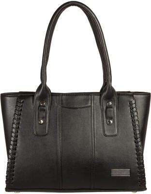 Louise Belgium Hand-held Bag(Black) at flipkart