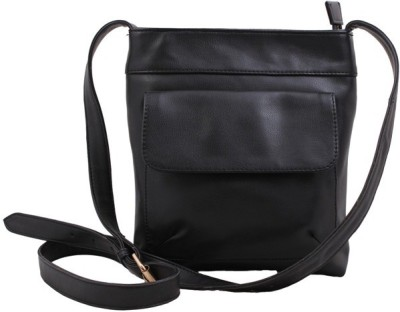 Zeppar Men Black Shoulder Bag