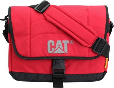 CATERPILLAR Messenger Bag(Red, Black)