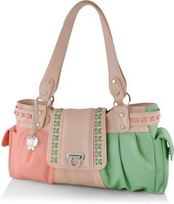 BUTTERFLIES Hand-held Bag(Multicolor)