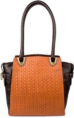 Hidesign Women Tan, Black Shoulder Bag at flipkart