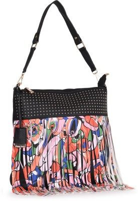 Diana Korr Women Black Shoulder Bag
