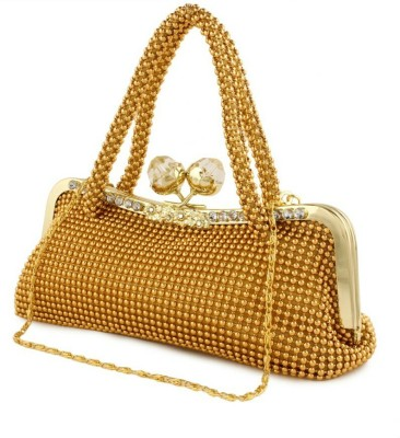 Impress Hand-held Bag(Gold)