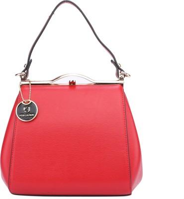 Fur Jaden Hand-held Bag(Red)