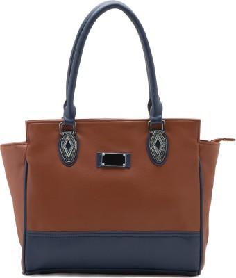 Falah Bag Works f125 tan   blue Tan Shoulder Bag