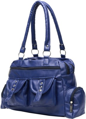 Gioviale Hand-held Bag(Blue)