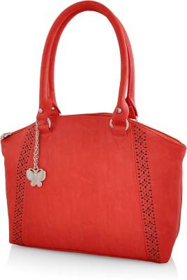 Butterflies Hand-held Bag(Red) at flipkart