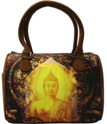 Bhamini Hand-held Bag(Brown)