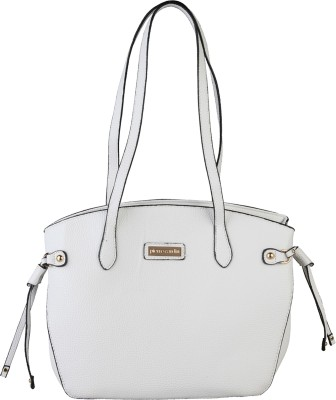 Pierre Cardin Shoulder Bag(White) at flipkart
