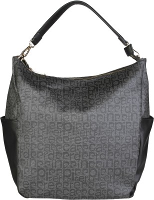 Pierre Cardin Shoulder Bag(Grey, Black) at flipkart