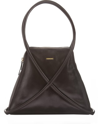 Sharav Hand-held Bag(Brown)