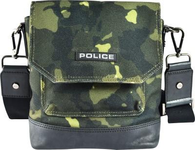 Police Messenger Bag(Green)