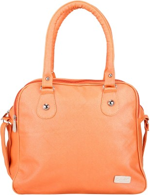 Mukul Collection Hand-held Bag(Orange)