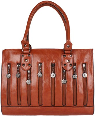 PamperVille Hand-held Bag(Brown)