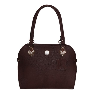 BeauIdeal Hand-held Bag(Brown)