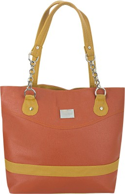 Govind Hand-held Bag(Orange, Yellow)