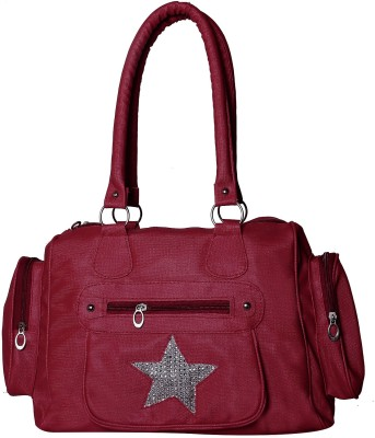 Gioviale Hand-held Bag(Maroon)