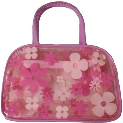 Viva Hand Pouch Cosmetic Bag Pink Viva Pouches and Potlis