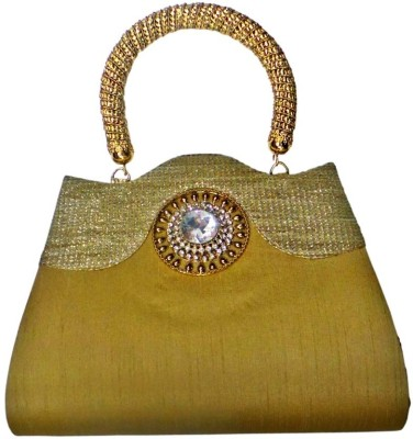 Bhamini Hand-held Bag(Gold)
