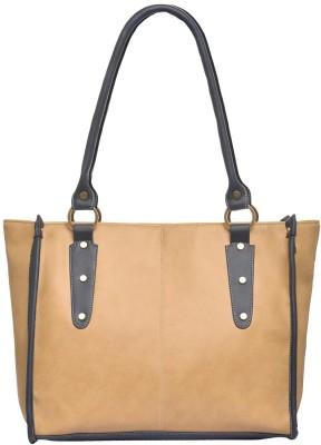 FOSTELO Women Beige Shoulder Bag FOSTELO Handbags