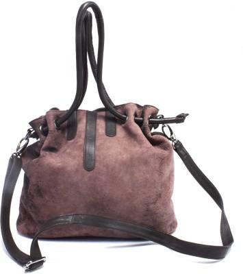 Ess Tee Hand-held Bag(Brown)