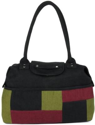 Indian Rain Hand-held Bag(Black)