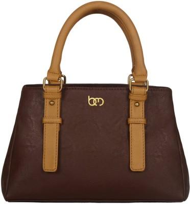 Bagsy Malone Hand-held Bag(Brown, Brown)