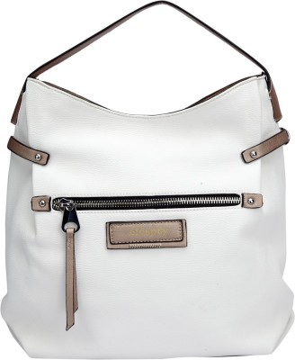 Elespry Women White Shoulder Bag at flipkart