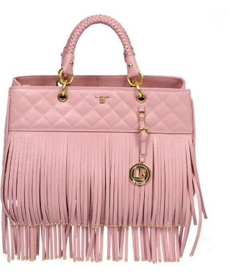 Da Milano Hand-held Bag(Pink)