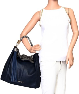 Elespry Hand-held Bag(Blue)