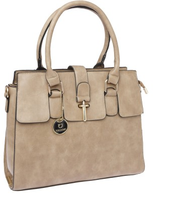 Fur Jaden Hand-held Bag(Beige)
