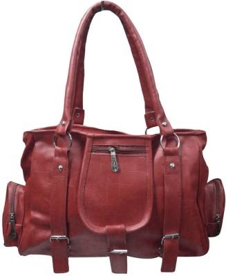 Creation Hand-held Bag(Brown)