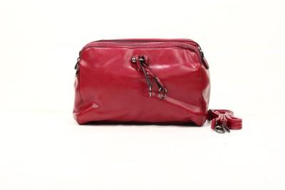 Liza Hand-held Bag(Maroon)