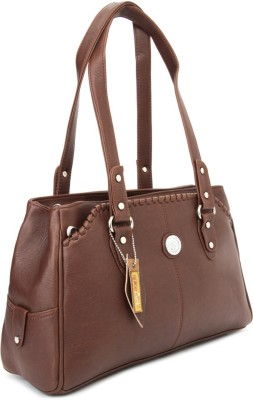 Spice Art Hand-held Bag(Brown)