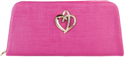 Louise Belgium Women Casual Pink  Clutch at flipkart