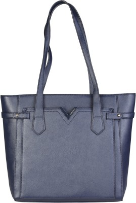 MARIO VALENTINO Women Blue Tote at flipkart