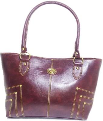 Belle Hand-held Bag(Maroon)