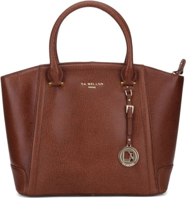 Da Milano Hand-held Bag(Tan)