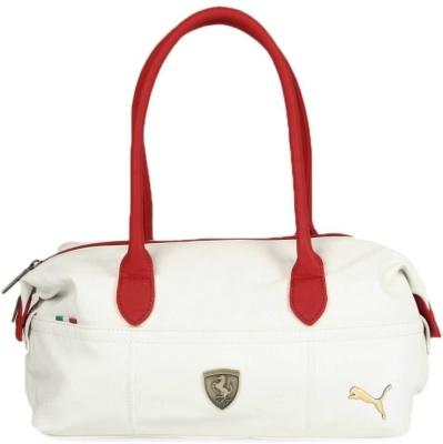 236ea6669719 Puma 7114403 Women White Ferrari Ls Handbag - Best Price in India ...