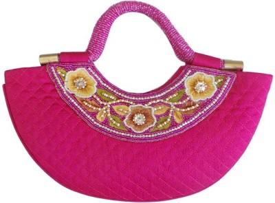 Bhamini Hand-held Bag(Pink)