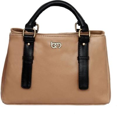 Bagsy Malone Hand-held Bag(Beige, Black)