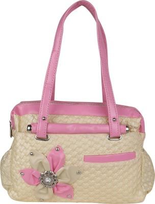 Sumit Collection Women Pink, Beige Shoulder Bag Sumit Collection Handbags