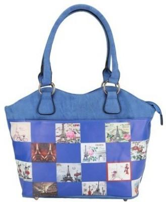 Liza Hand-held Bag(Blue)