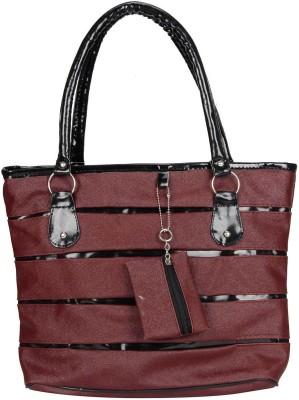 MAEVA Hand-held Bag(Maroon)