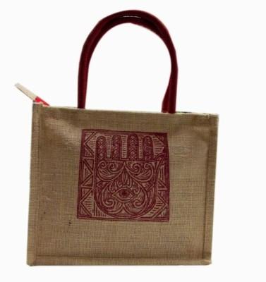 Indha Craft Hand-held Bag(Beige)  available at flipkart for Rs.150