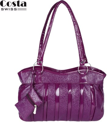 Costa Swiss Hand-held Bag(Purple)