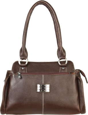 Louise Belgium Hand-held Bag(Tan)