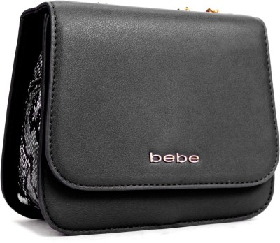 BeBe Black Shoulder Bag at flipkart